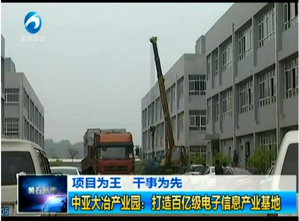 中亚大冶产业区