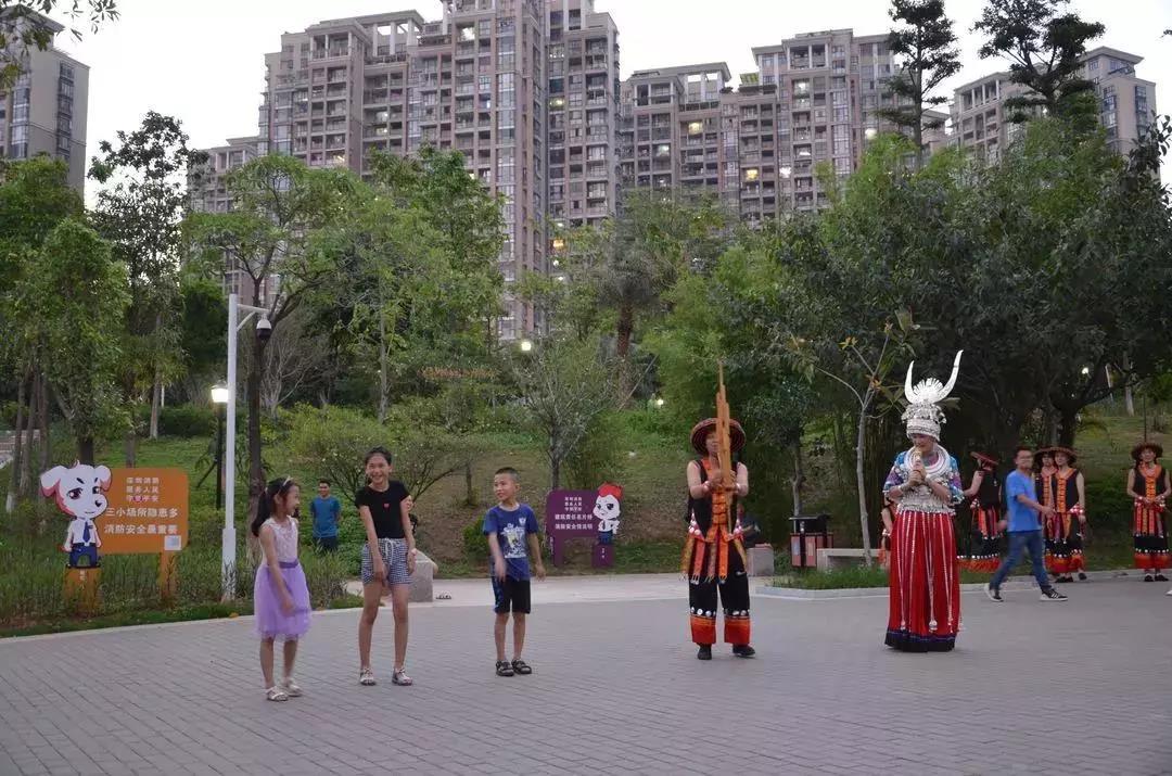 沙井公园表演